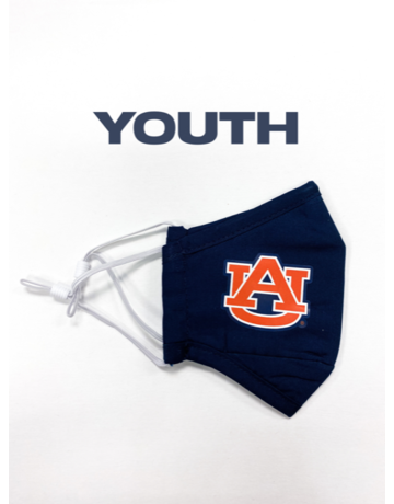 Solid Navy Youth AU Mask