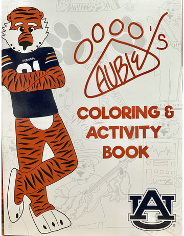 Aubie Coloring and Activity Book