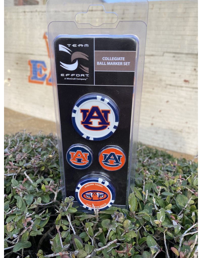 Auburn Ball Marker Set