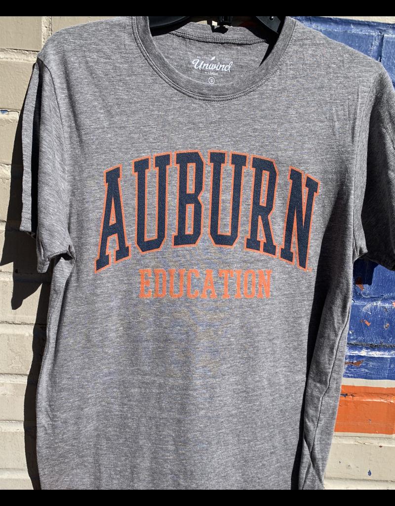 League Auburn Education T-Shirt