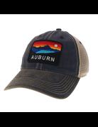 Auburn Panoramic Sunset Old Favorite Trucker Mesh Hat