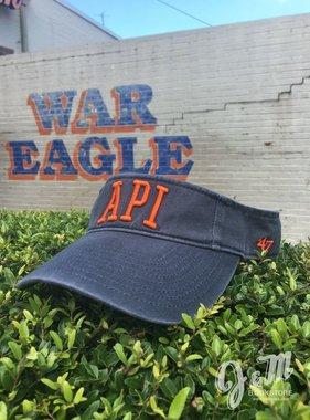 47 Brand Classic API Visor, Vintage Navy