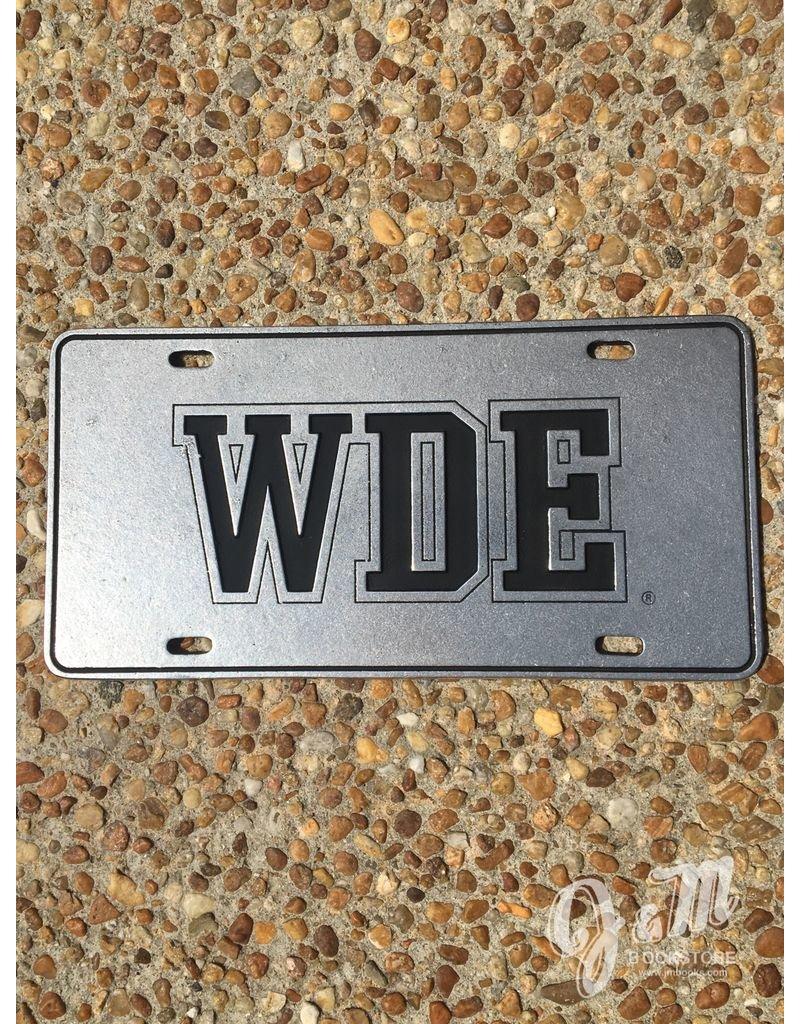 WDE  Plate