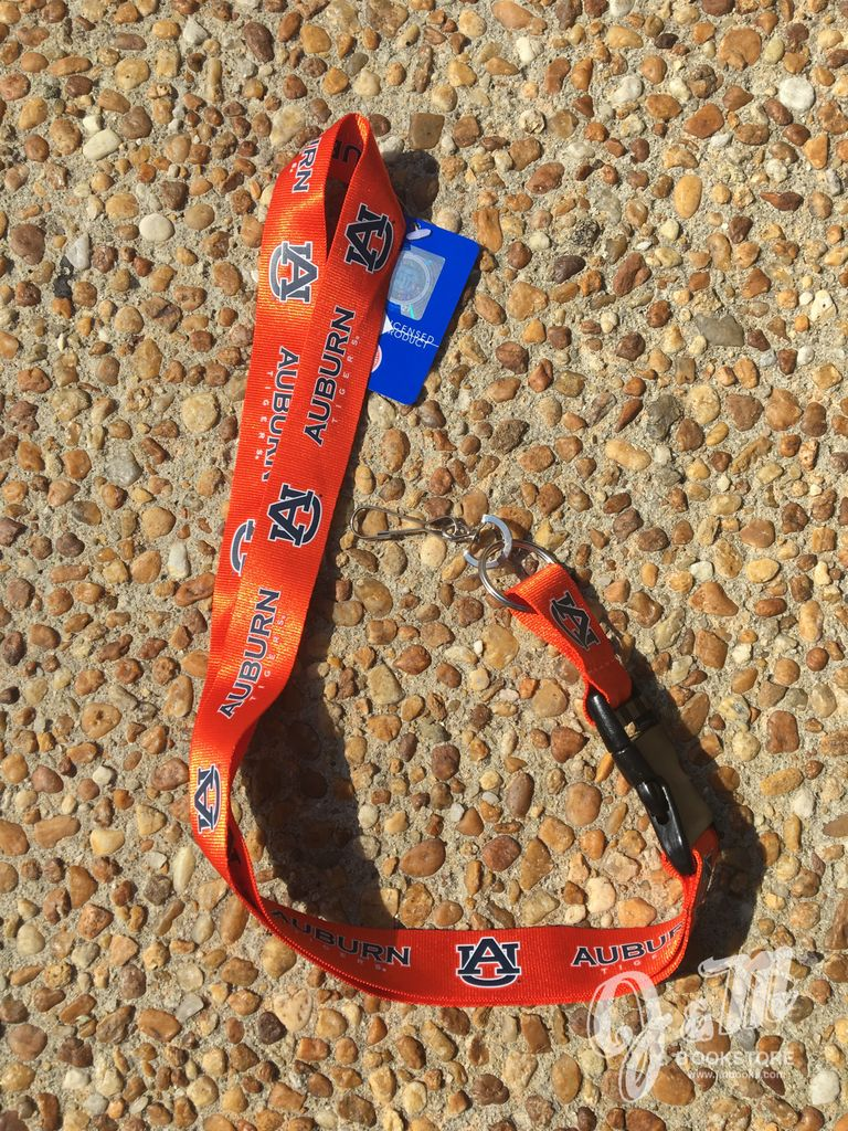 Auburn Tigers AU Lanyard, orange