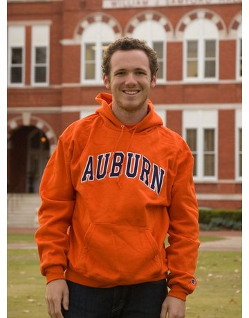 Champion Arch Auburn Embroidered Fleece Hoodie