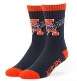 47 Brand Eagle Thru A Navy Crew Socks