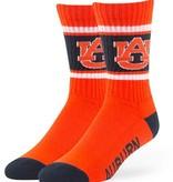 47 Brand AU 3-Tone Crew Socks, Orange, Large