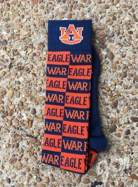 Donegal Bay AU War Eagle Checkerboard Socks