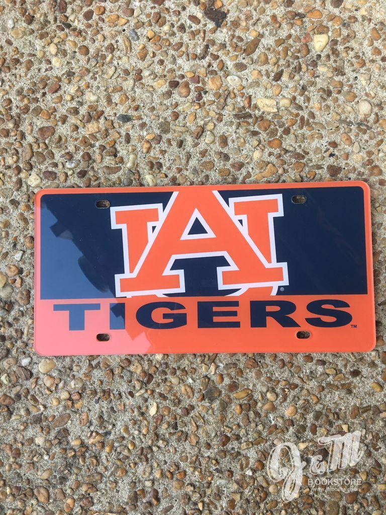 Jumbo AU Tigers Acrylic Plate