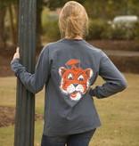 MV Sport Vintage Aubie Head Long Sleeve T-Shirt