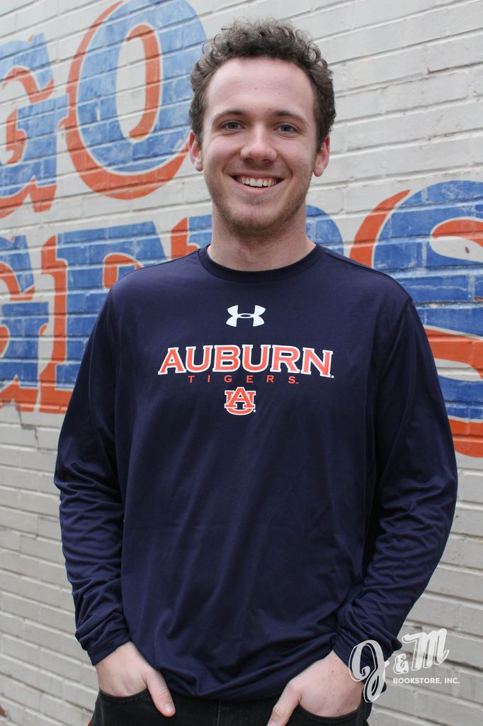 Under Armour Auburn Tigers Long Sleeve T-Shirt