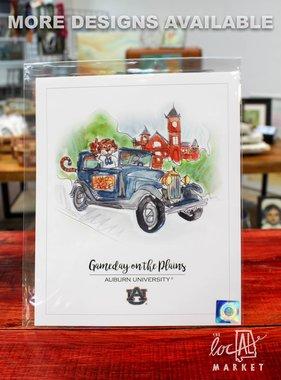 Auburn Licensed Prints 6x8