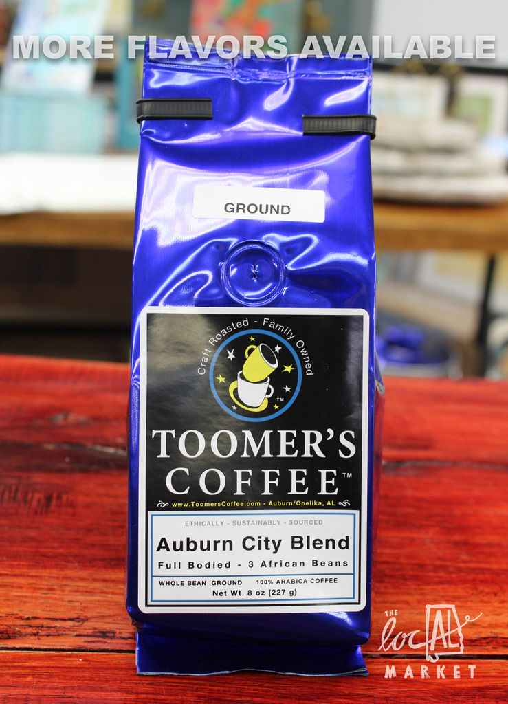 Toomer's Coffee Roasters 8oz. Toomer's Coffee