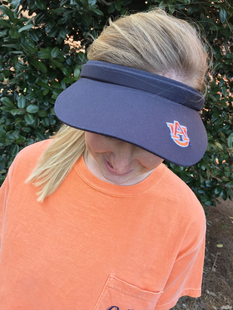 AU Women s Tennis Visor - J M Bookstore e9d1e52be4d