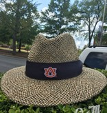 The Game AU Straw Hat with Navy Band