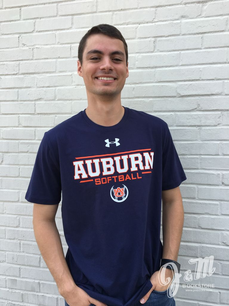 Under Armour Under Armour Auburn Softball T-Shirt