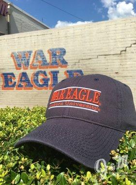 The Game War Eagle Auburn University Bar Hat, Navy