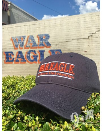 The Game War Eagle Auburn University Bar Hat, Navy