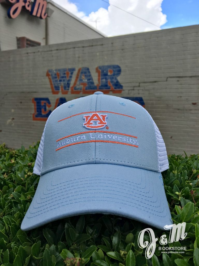 The Game AU Auburn University Two Tone Bar Mesh Hat