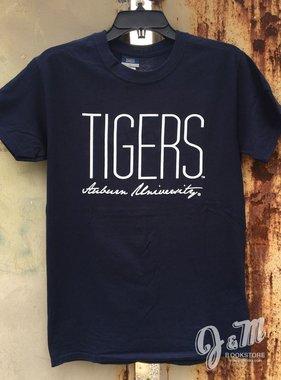 MV Sport Tall Tigers Script Auburn University T-Shirt