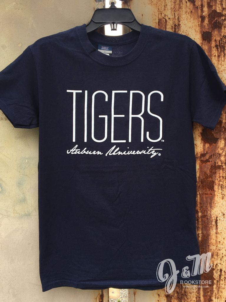 MV Sport Tall Tigers Script Auburn University T-Shirt