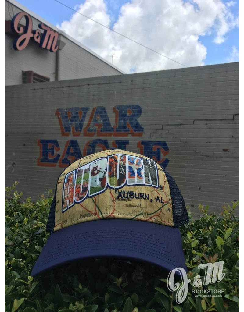 The Game Auburn Road Map Mesh Hat
