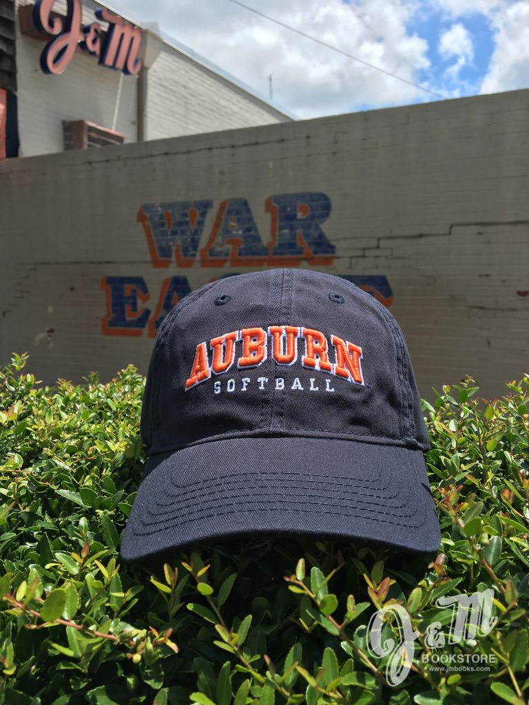 Arch Auburn Softball Hat, Navy. OSFA