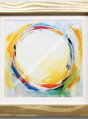 20 by 20 inch Circle No.1 Print