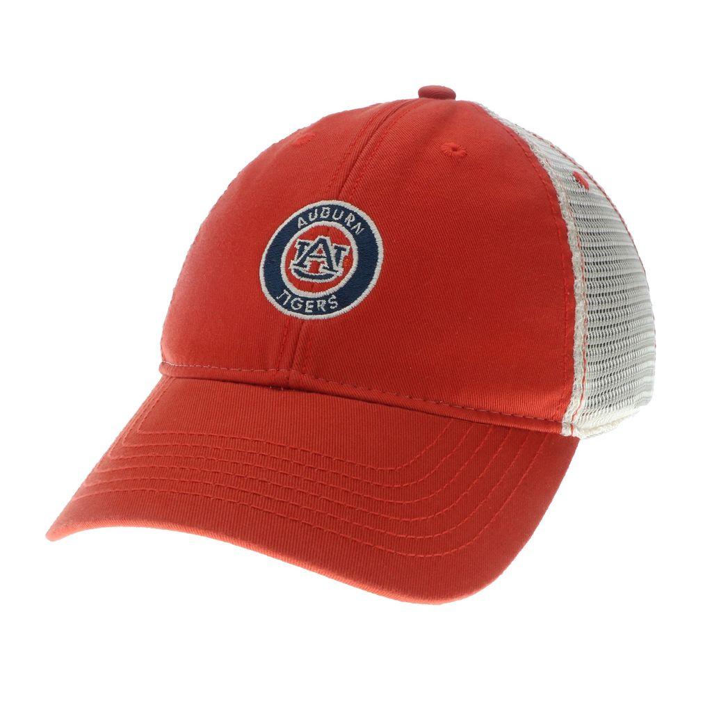Auburn Tigers Circle AU Mesh Hat