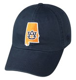 Orange and Navy State Outline Hat