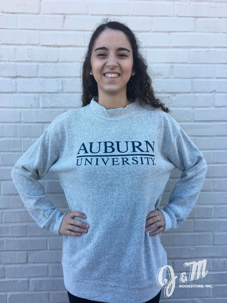 MV Sport Auburn Bar University Fleece Crew