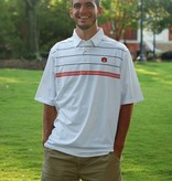 Divots Classic Three Stripe Polo