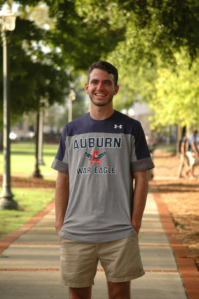 Under Armour Auburn Eagle Through A War Eagle T-Shirt