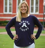 Under Armour Auburn Tigers Classic A Ladies Long Sleeve T-Shirt