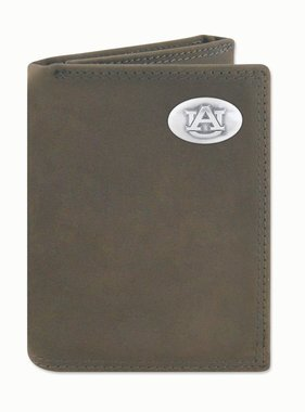 Light Brown Crazy Horse Trifold Wallet