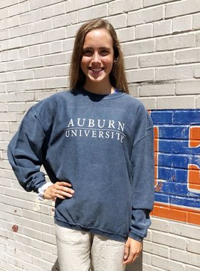 Chicka-D Auburn Bar University Corded Sweatshirt
