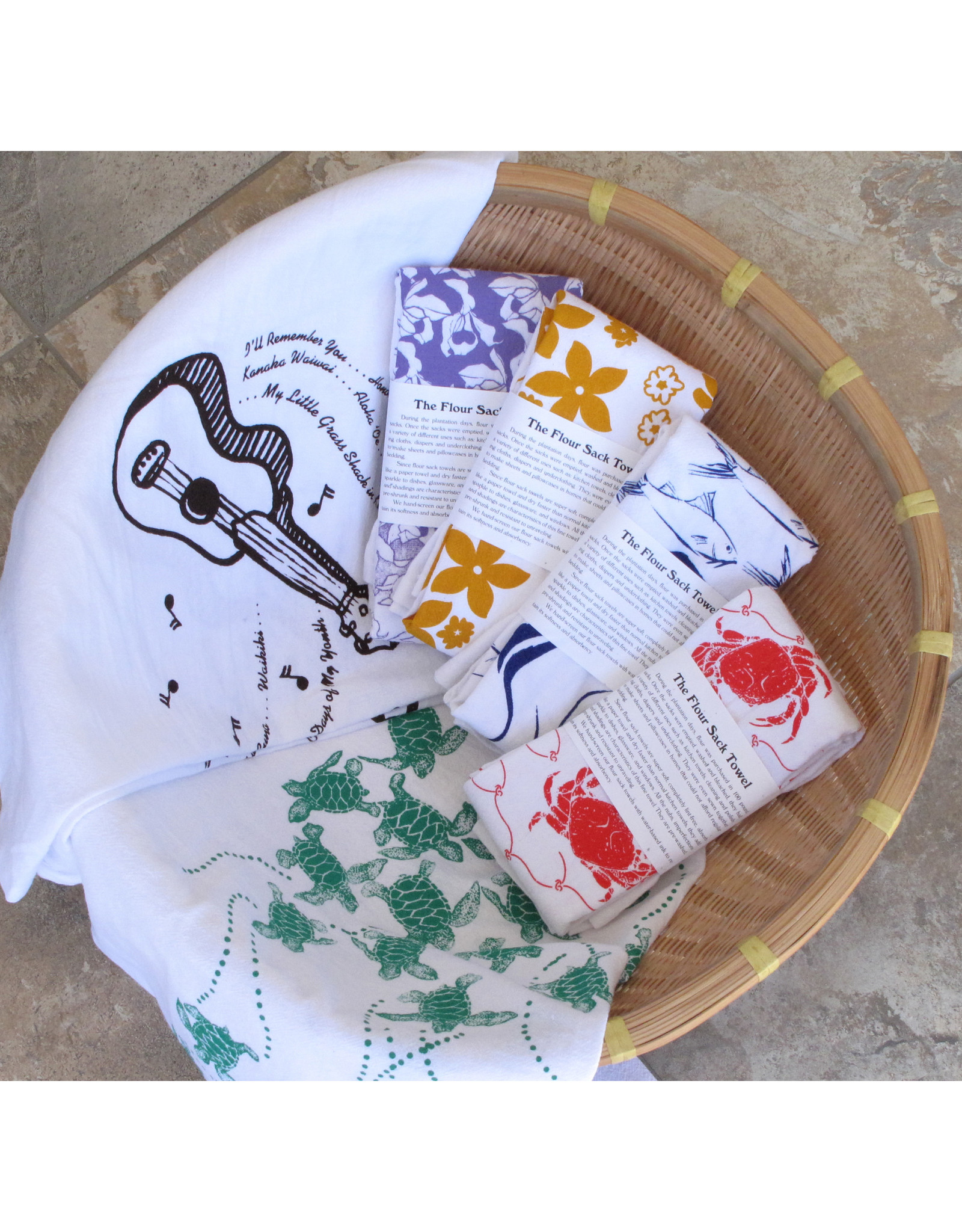 Downtown General Store Flour Sack Towels