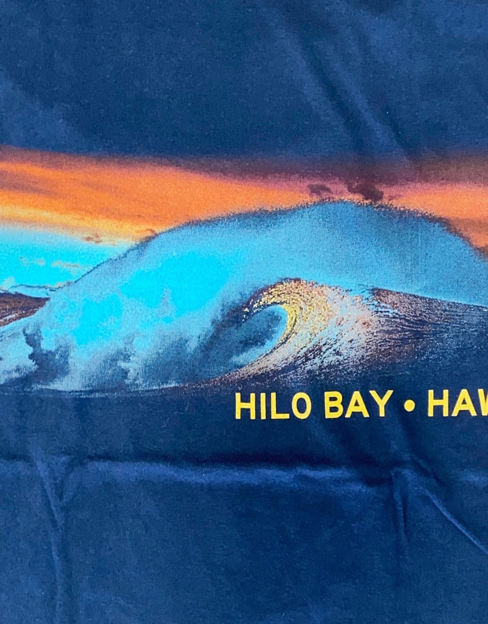 Blue 84 Cogwheel Waves Hilo Bay Hawaii