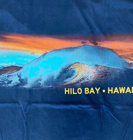 Blue 84 Cogwheel Waves Hilo Bay Hawaii T-Shirt