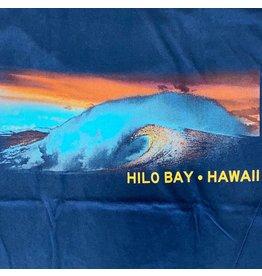 Blue 84 Cogwheel Waves Hilo Bay Hawaii T-Shirt