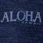 Blue 84 Declared Love Aloha HI Chain Ladies T-shirt