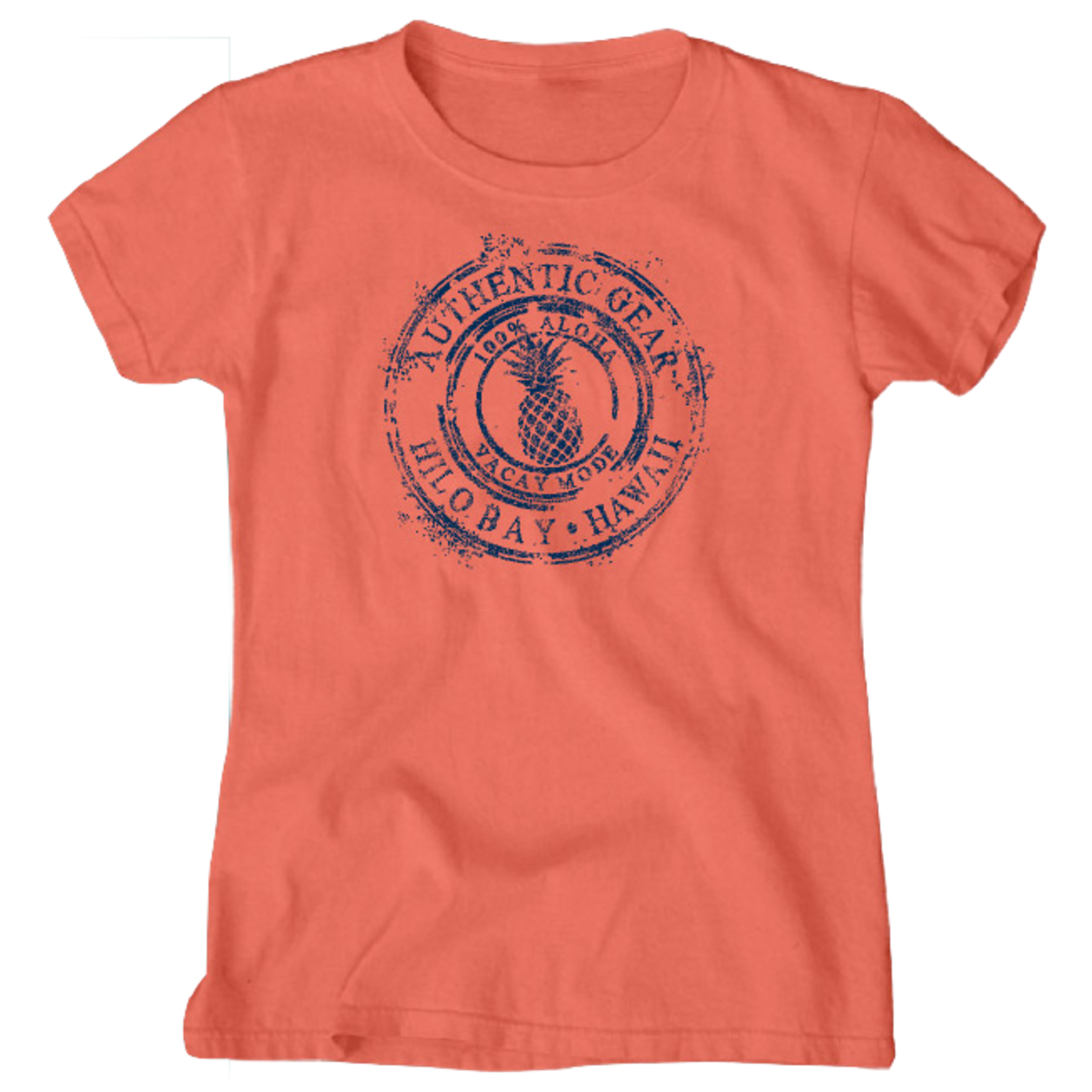 Blue 84 Coffee Ring Longer Length Ladies T-Shirt
