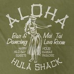 Blue 84 Enthrall Hula Girl T-Shirt