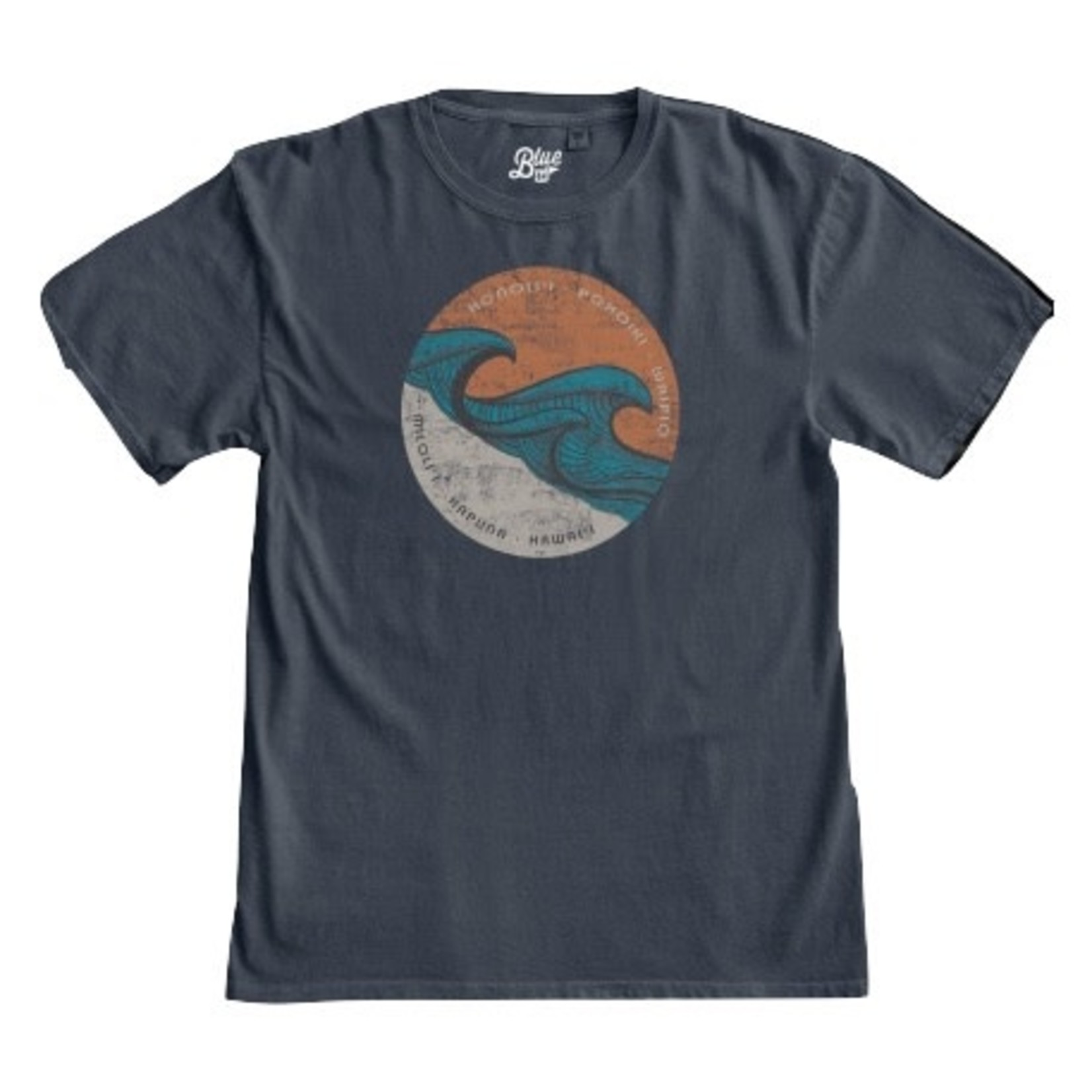 Blue 84 Java Kava Wave Soft T-Shirt