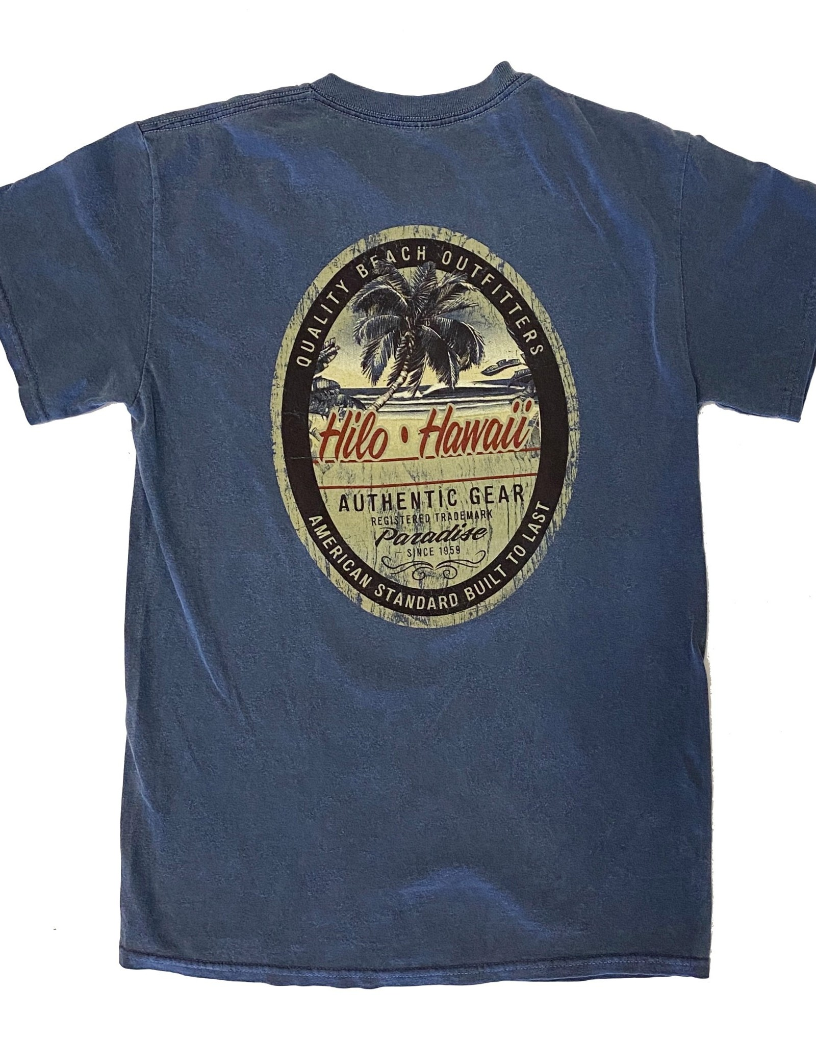 Blue 84 Less Surprised Beach M2 Overdyed T-Shirt