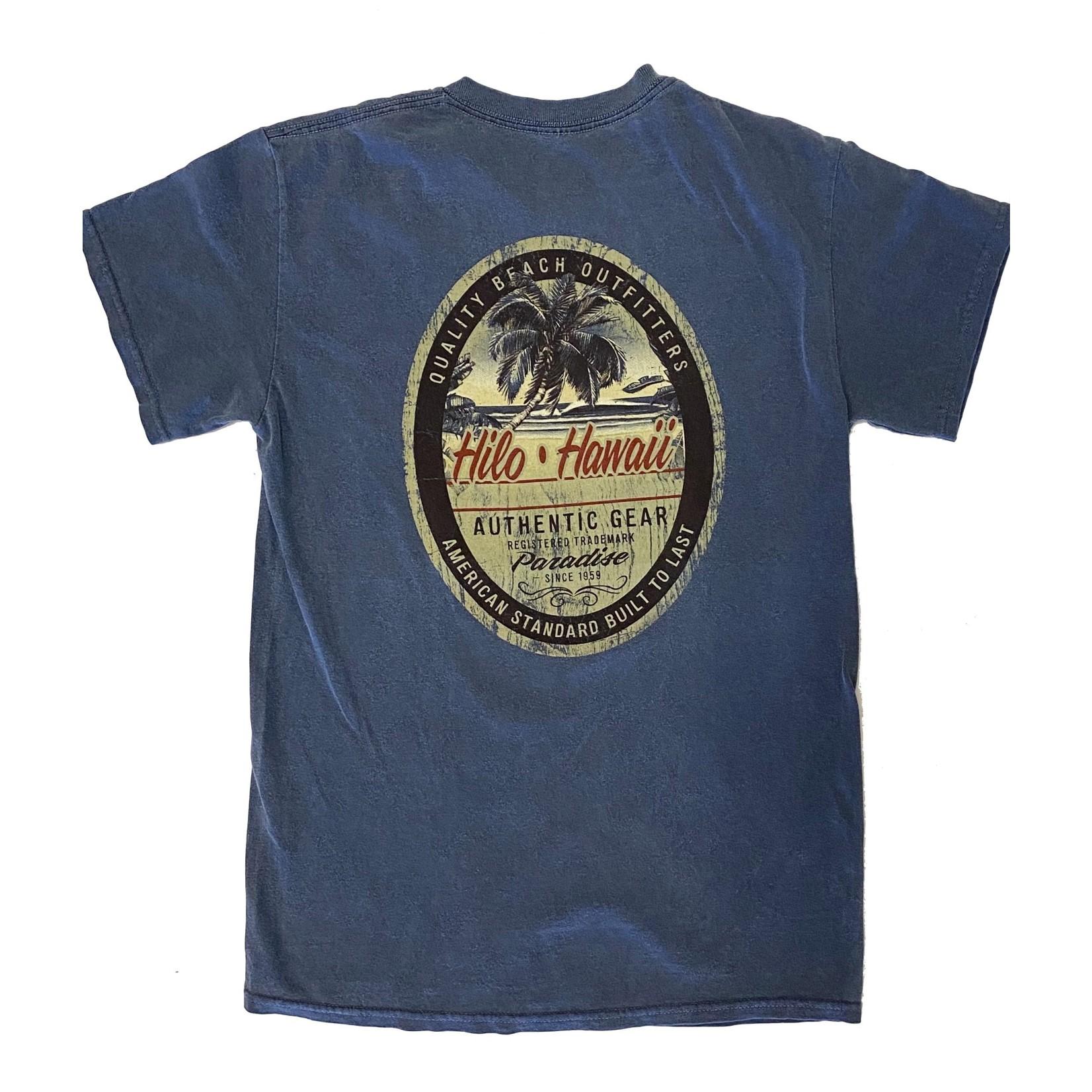 Blue 84 Less Surprised Beach M2 Overdyed T-Shirt