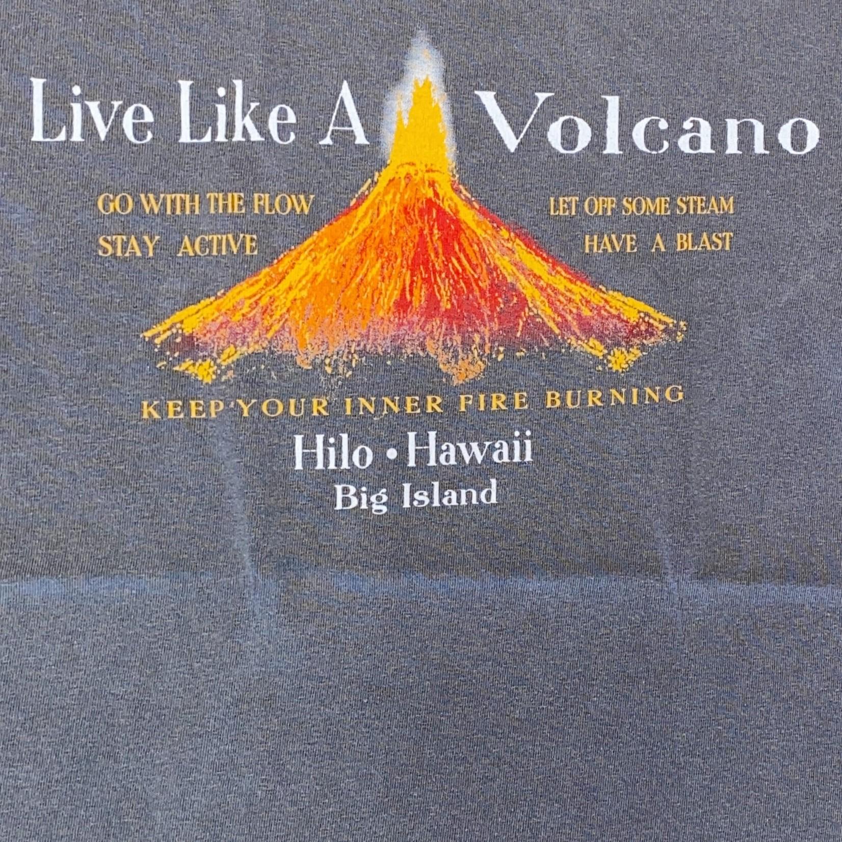 Blue 84 Living Words Volcano