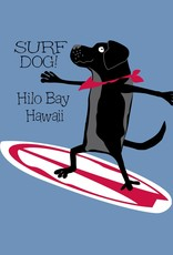 Blue 84 Well Balanced Surf Dog Todd Youth Dyed Ringspun Tee