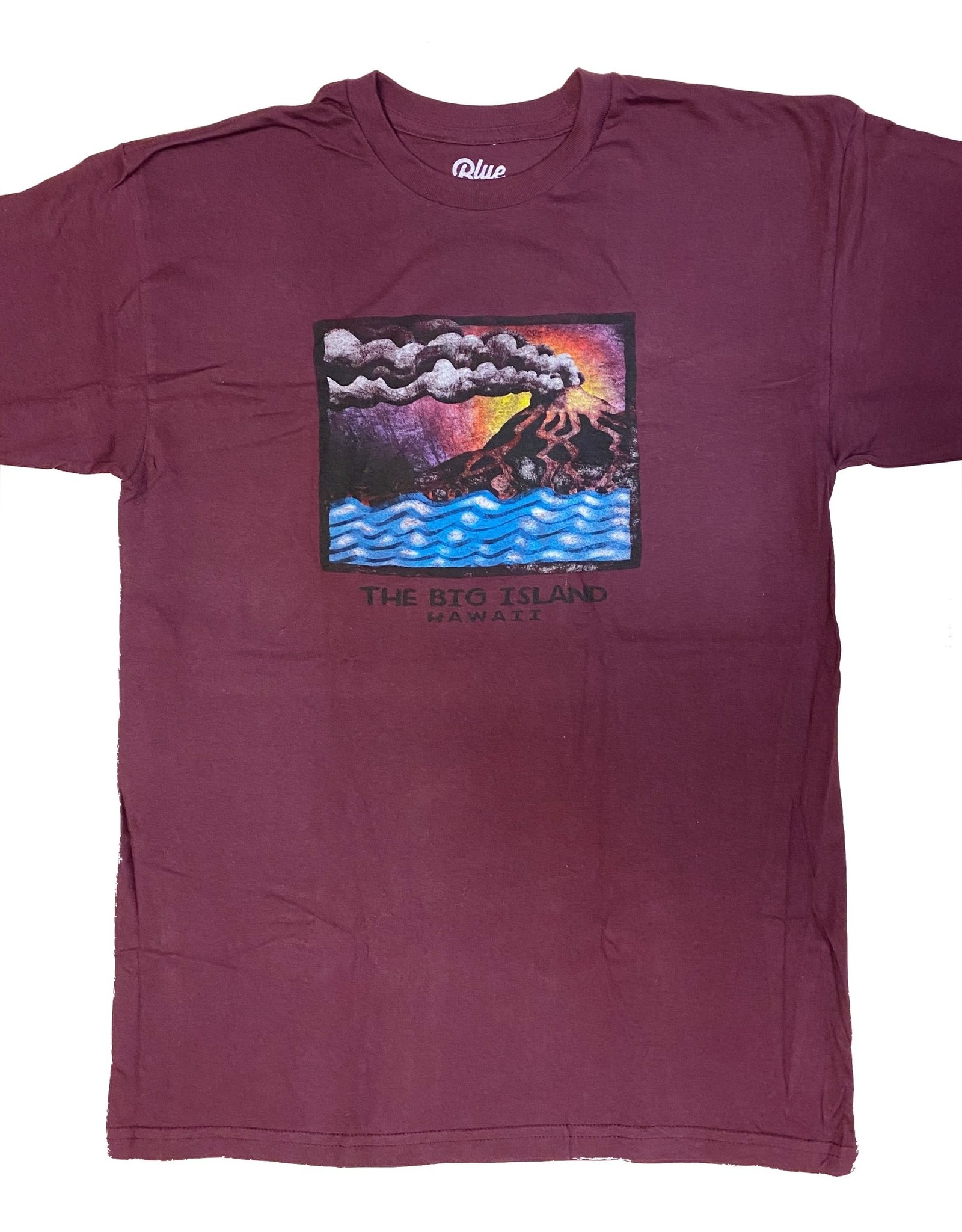 Blue 84 WikiWiki Volcano (Front Design) T-shirt
