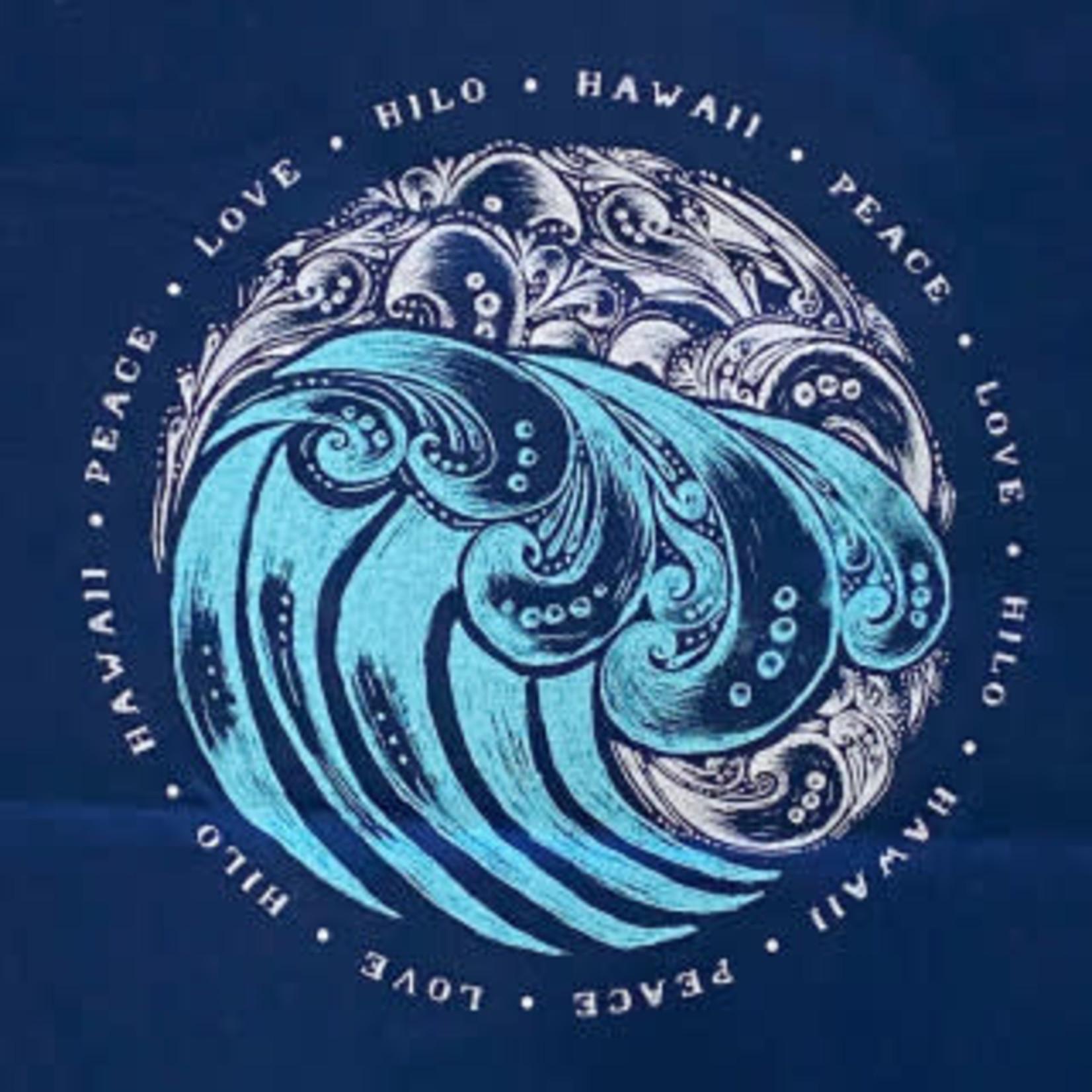 Blue 84 Yingy Wave Long Sleeve T-Shirt